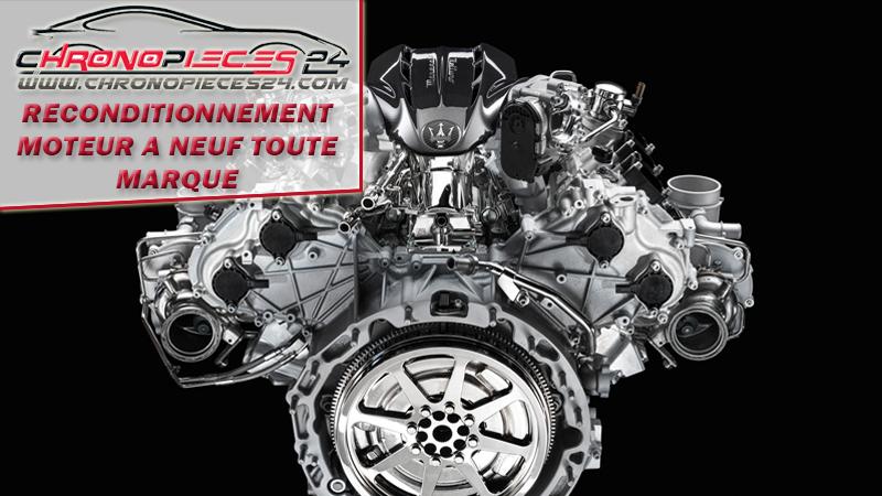 Service de reconditionnement moteurs à neuf de voitures